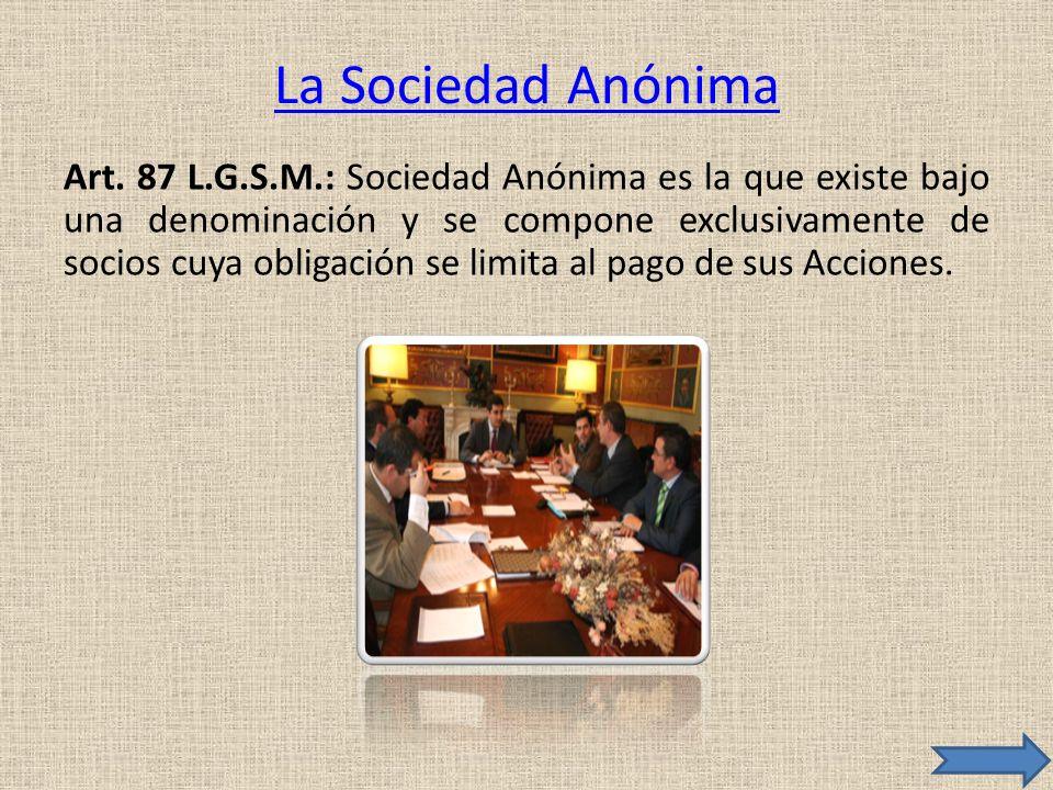 La Sociedad Anónima