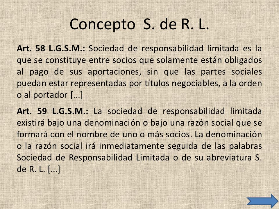 Concepto S. de R. L.