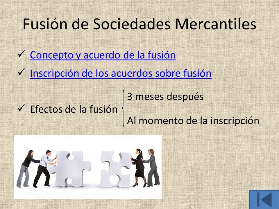 Fusión de Sociedades Mercantiles