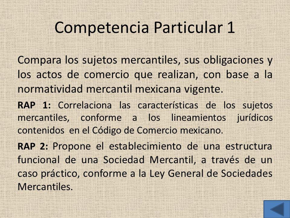 Competencia Particular 1