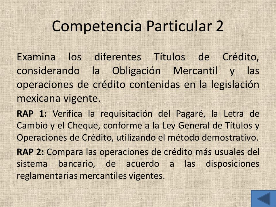 Competencia Particular 2