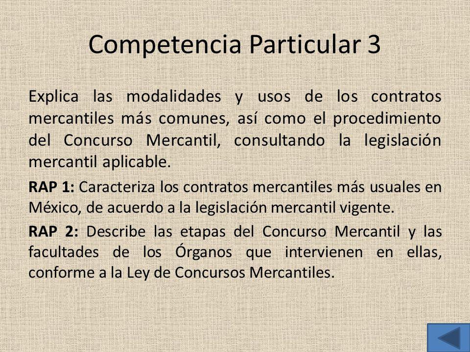 Competencia Particular 3