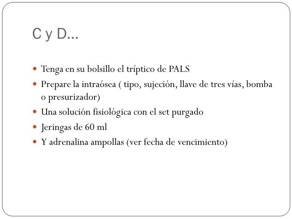 C y D… Tenga en su bolsillo el tríptico de PALS