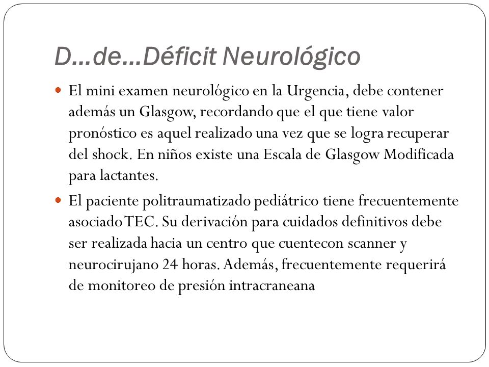 D…de…Déficit Neurológico