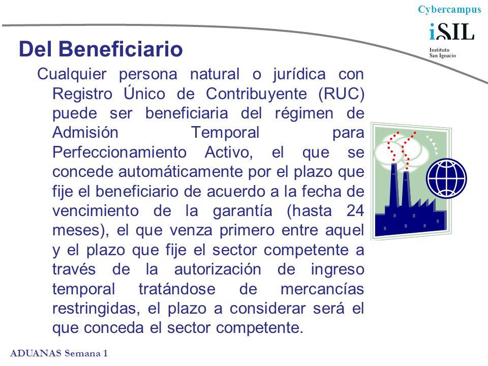 Del Beneficiario