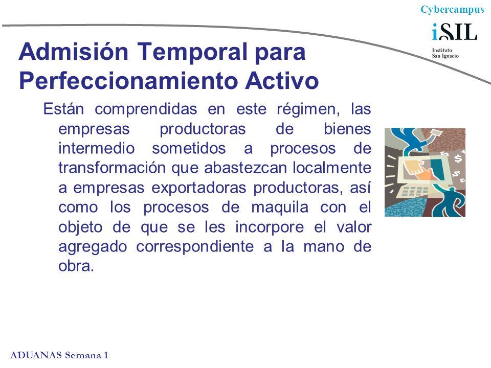 Admisión Temporal para Perfeccionamiento Activo