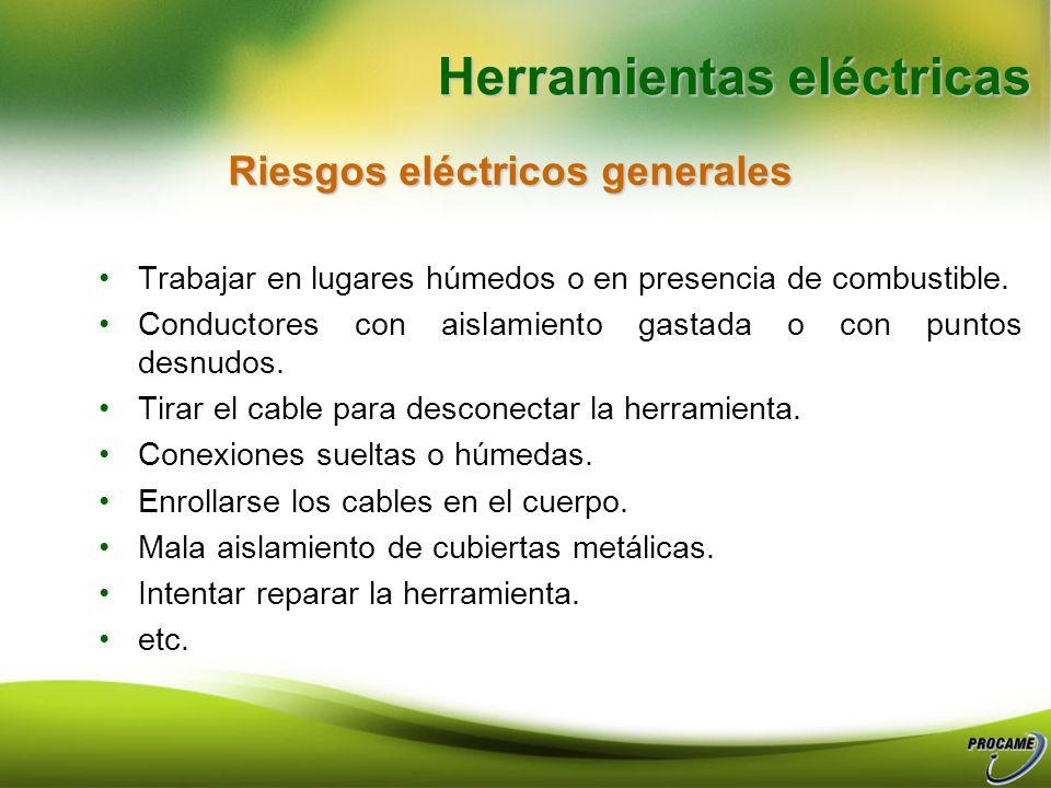 Riesgos eléctricos generales