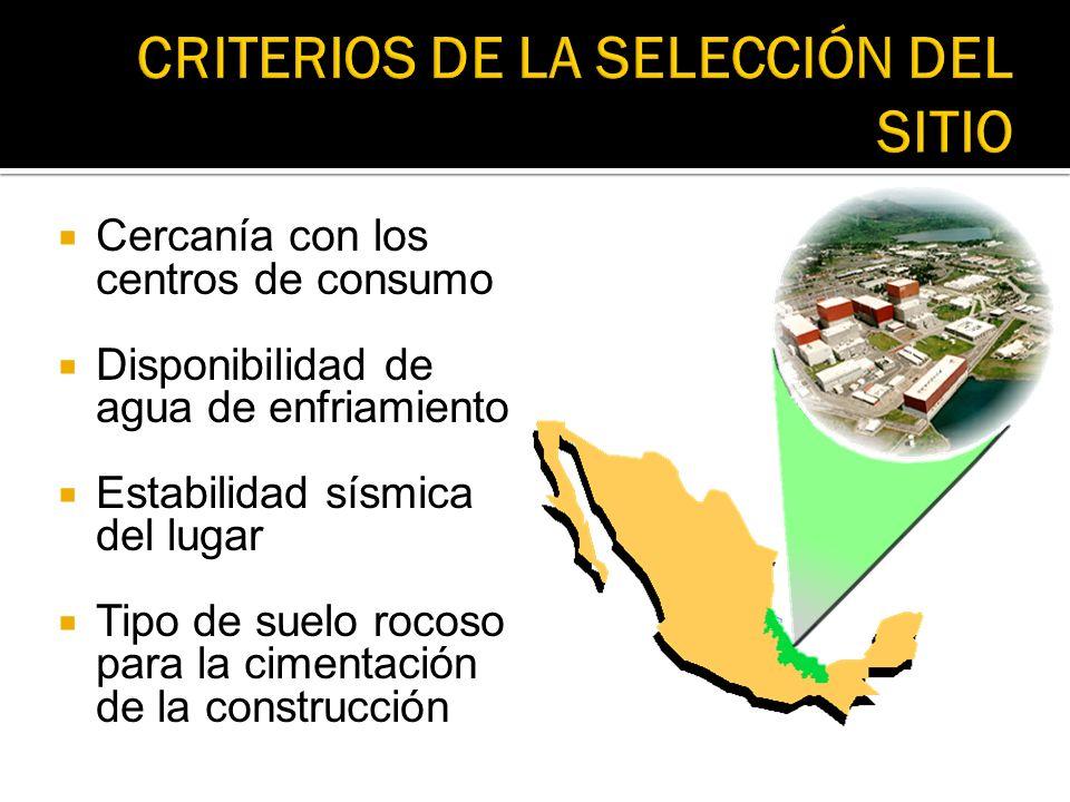 CRITERIOS DE LA SELECCIÓN DEL SITIO