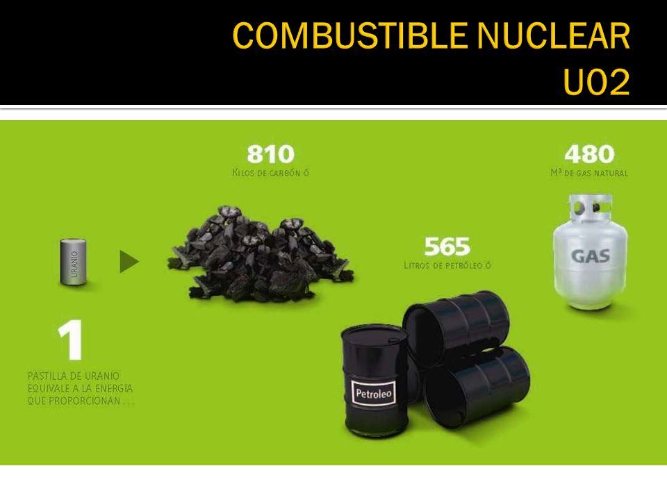 COMBUSTIBLE NUCLEAR U02