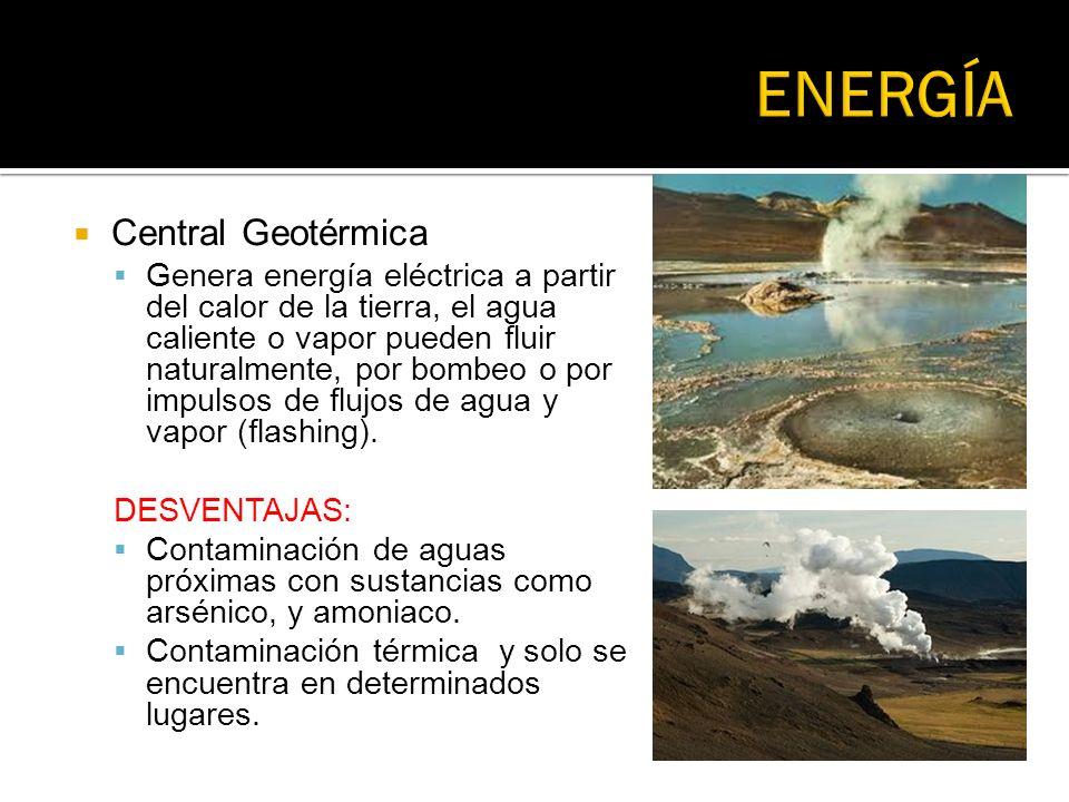 ENERGÍA Central Geotérmica