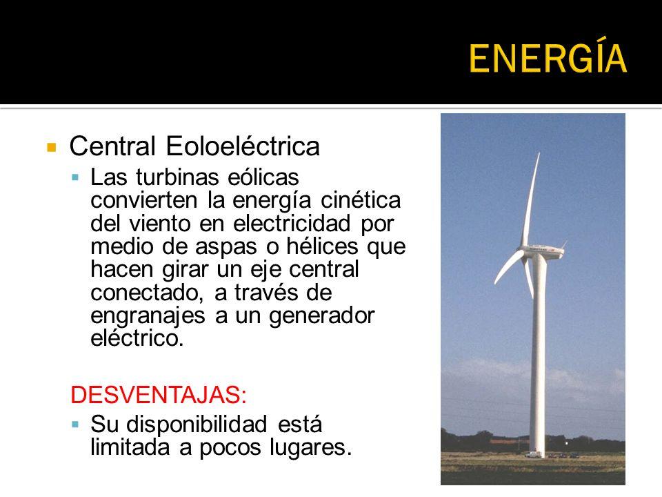 ENERGÍA Central Eoloeléctrica