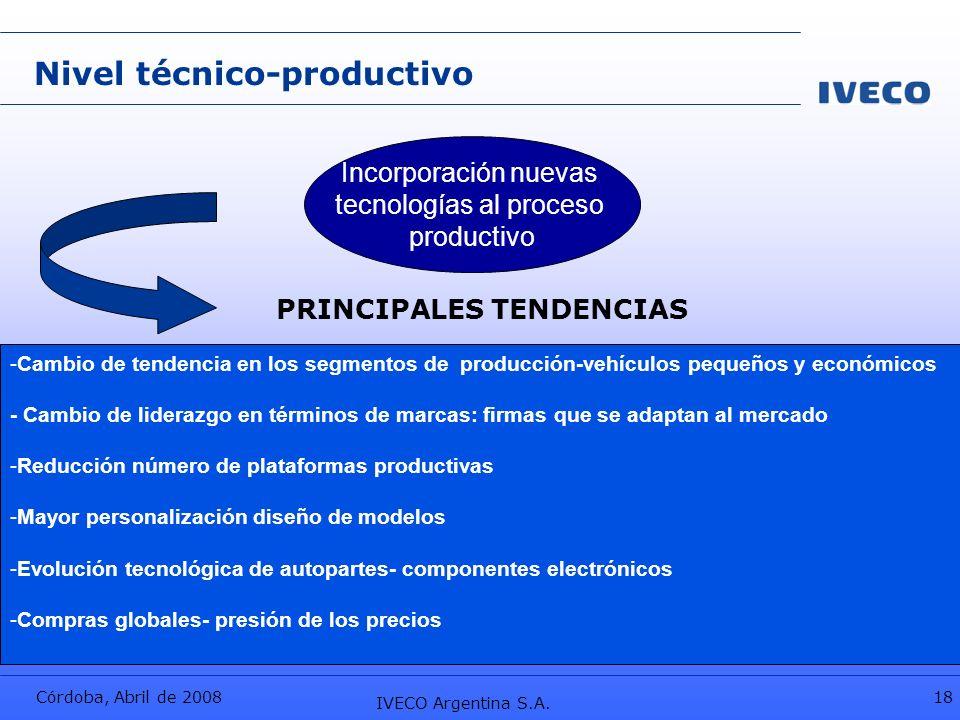 tecnologías al proceso
