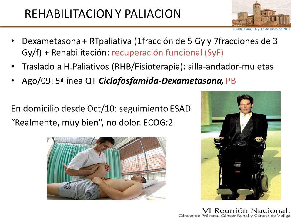 REHABILITACION Y PALIACION