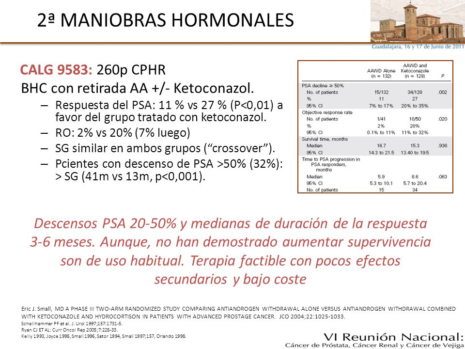 2ª MANIOBRAS HORMONALES