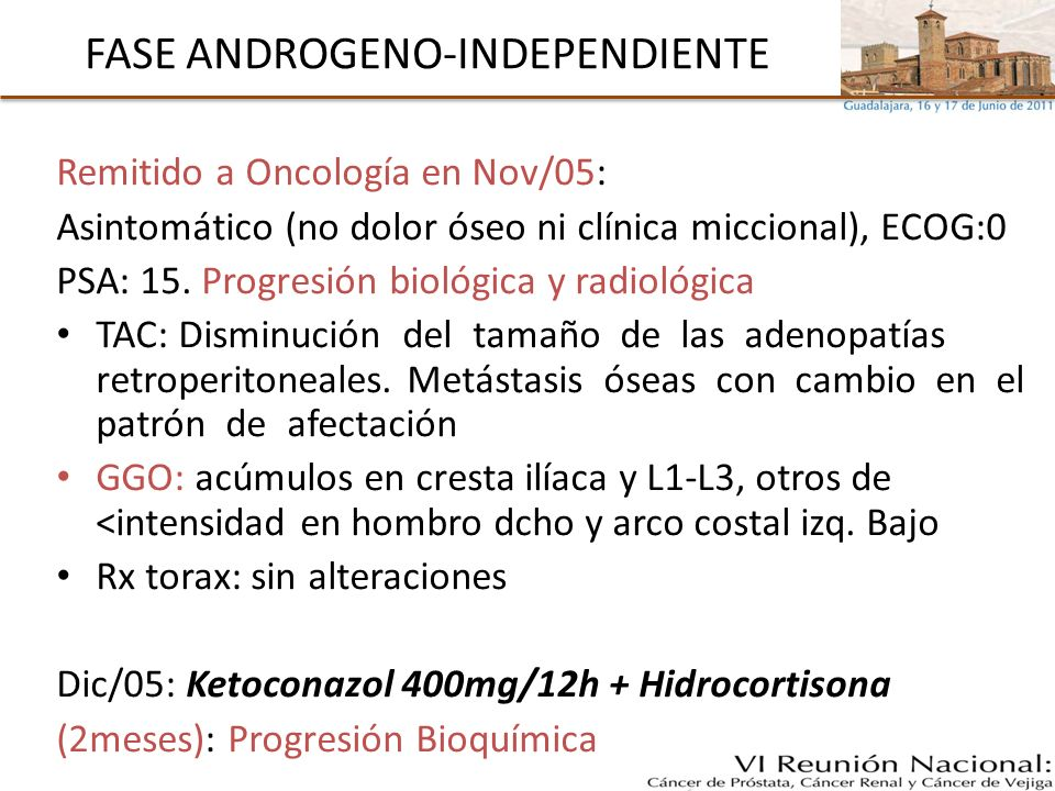 FASE ANDROGENO-INDEPENDIENTE