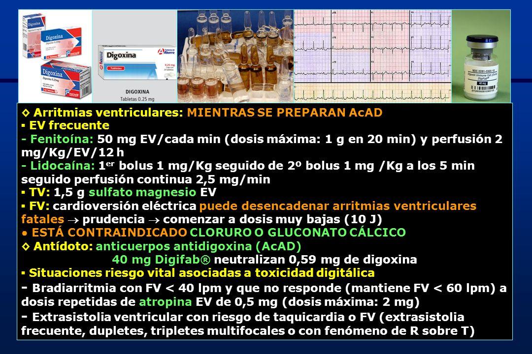 ◊ Arritmias ventriculares: MIENTRAS SE PREPARAN AcAD