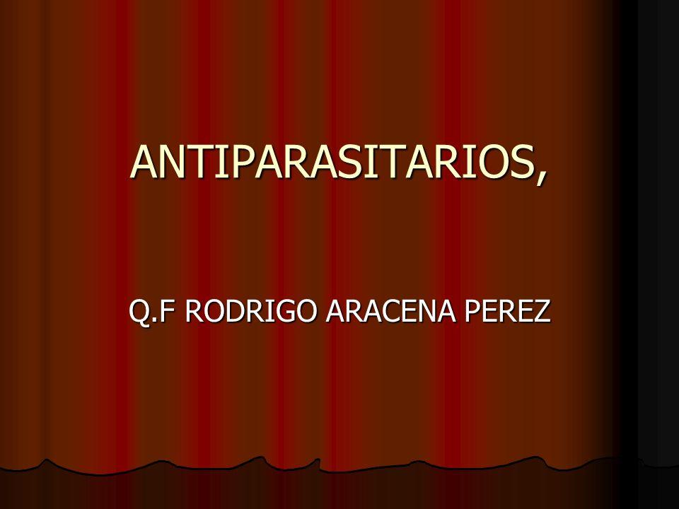 Q.F RODRIGO ARACENA PEREZ