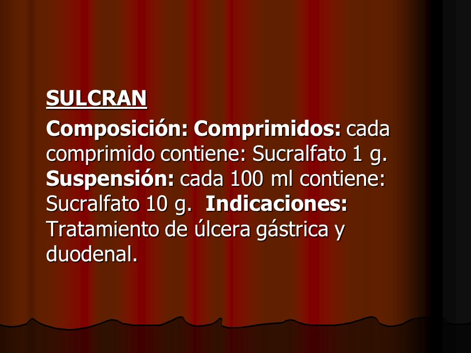 SULCRAN