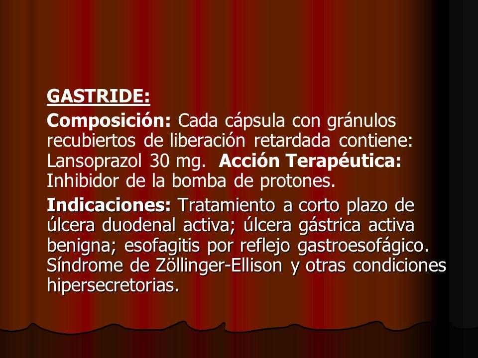 GASTRIDE:
