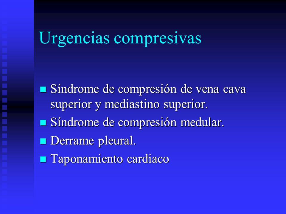Urgencias compresivas