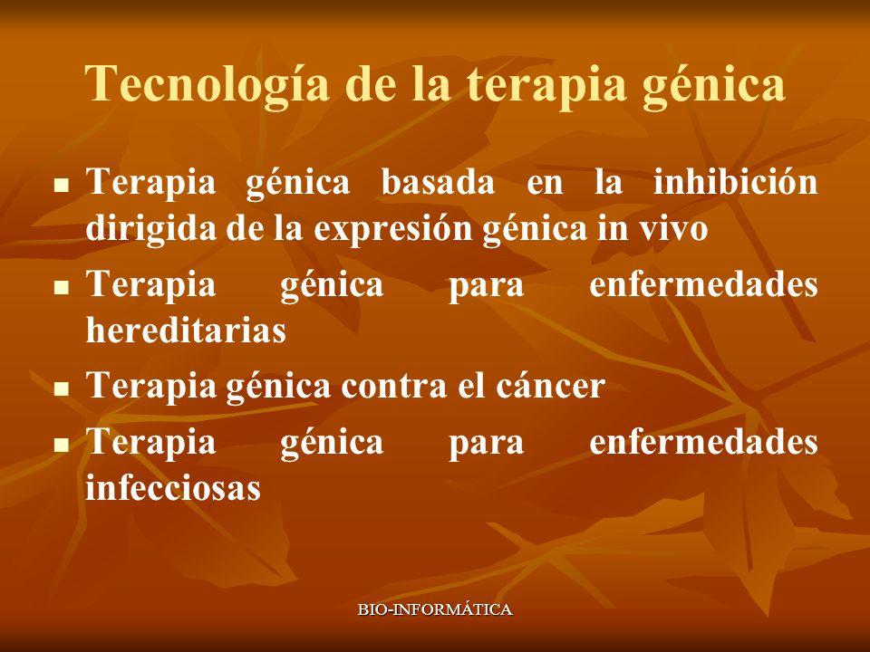 Tecnología de la terapia génica