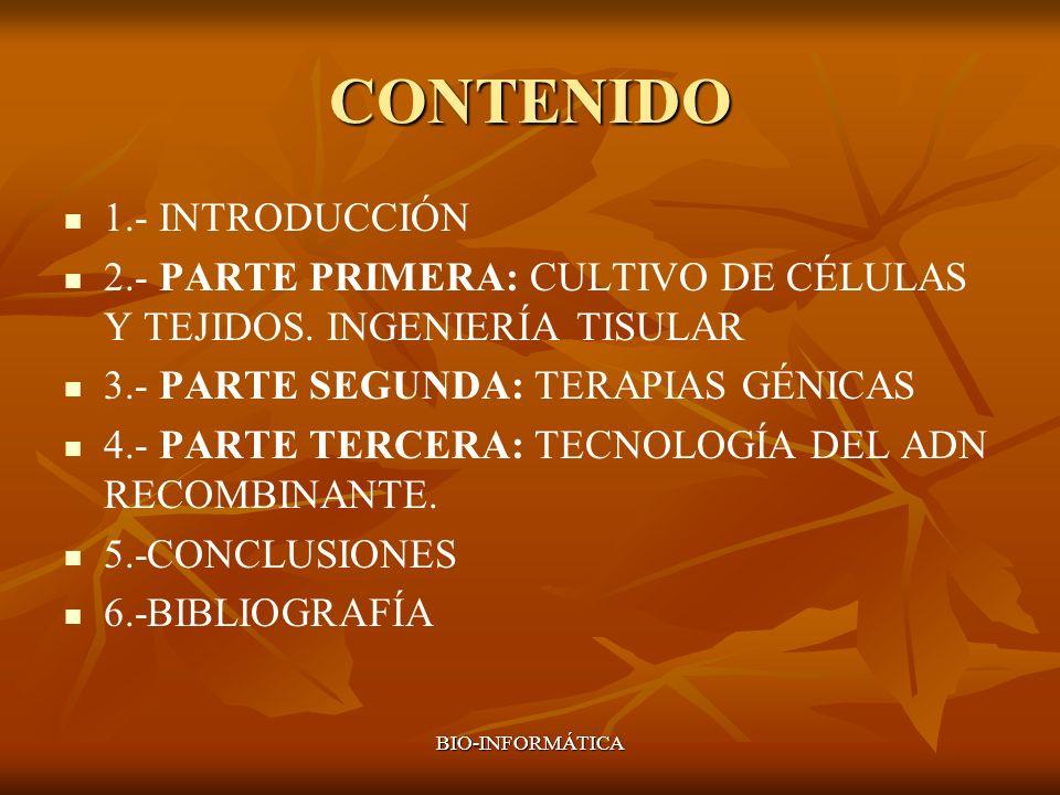 CONTENIDO 1.- INTRODUCCIÓN