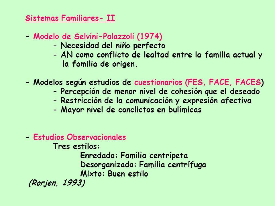 Sistemas Familiares- II