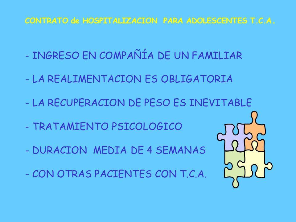 - INGRESO EN COMPAÑÍA DE UN FAMILIAR