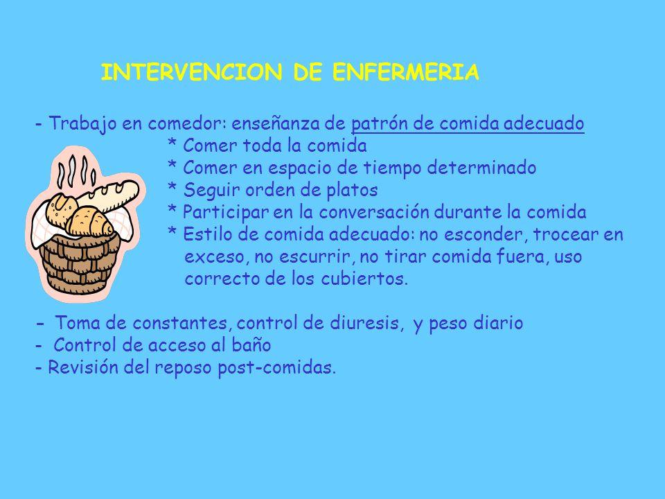 INTERVENCION DE ENFERMERIA