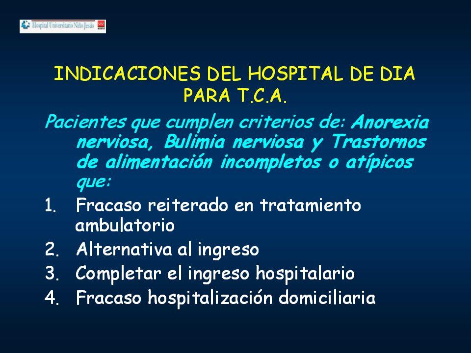 TRATAMIENTO EN HOSPITAL DE DIA