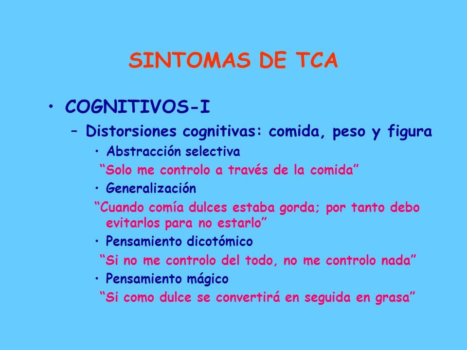 SINTOMAS DE TCA COGNITIVOS-I