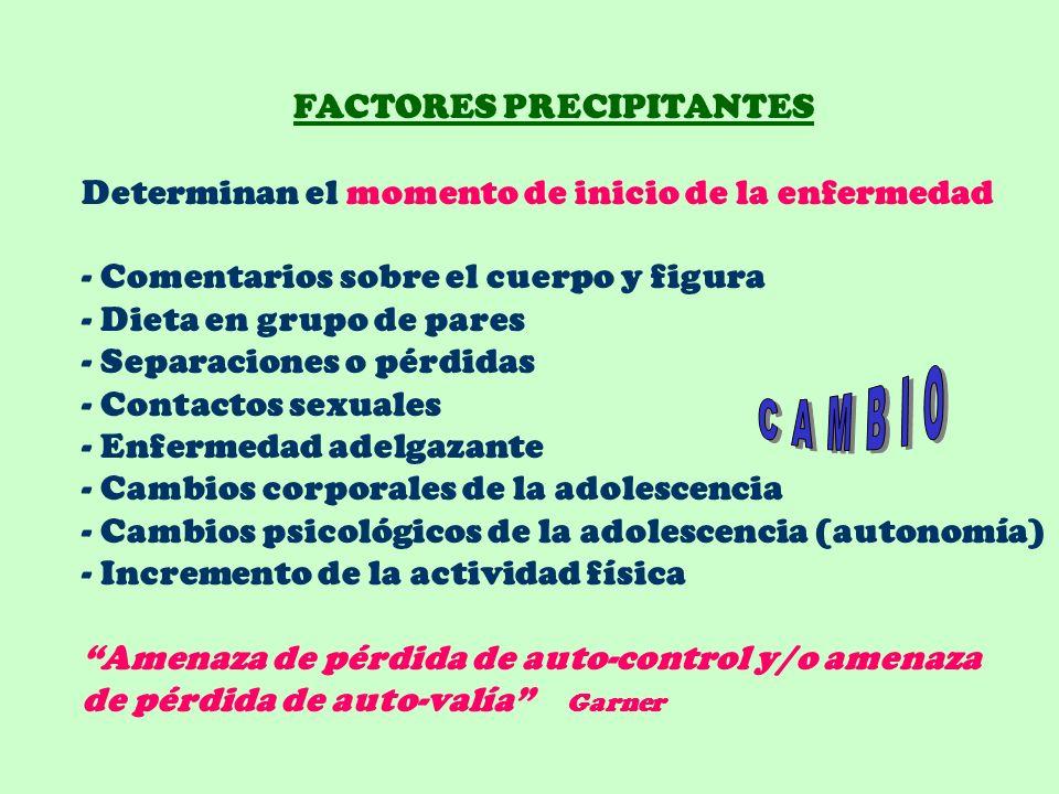 CAMBIO FACTORES PRECIPITANTES