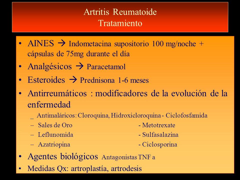 Artritis Reumatoide Tratamiento