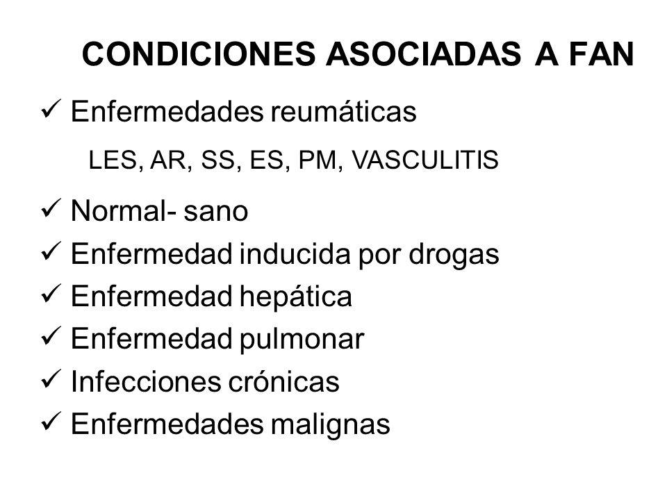 CONDICIONES ASOCIADAS A FAN