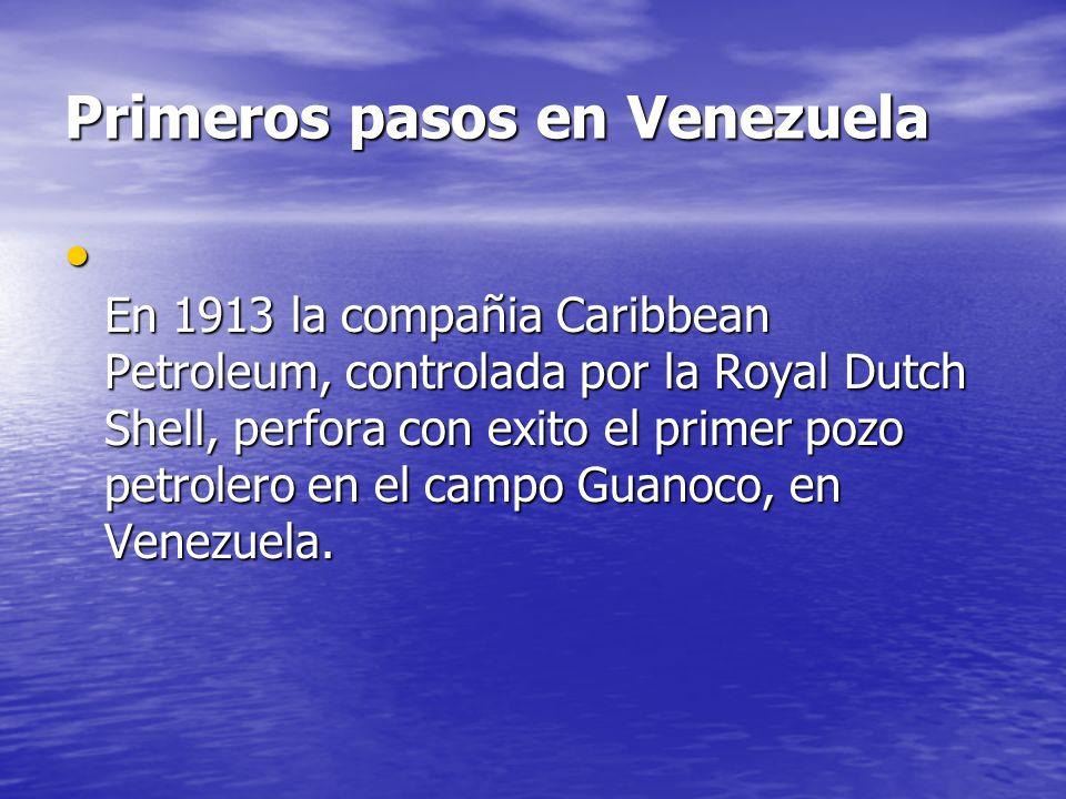 Primeros pasos en Venezuela