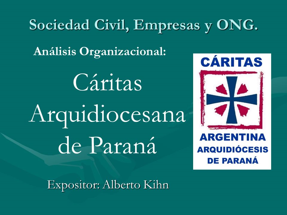 Sociedad Civil, Empresas y ONG.