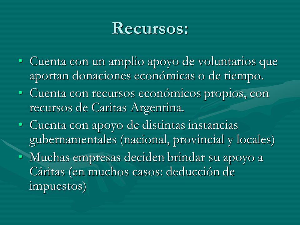 Recursos: Cuenta con un amplio apoyo de voluntarios que aportan donaciones económicas o de tiempo.