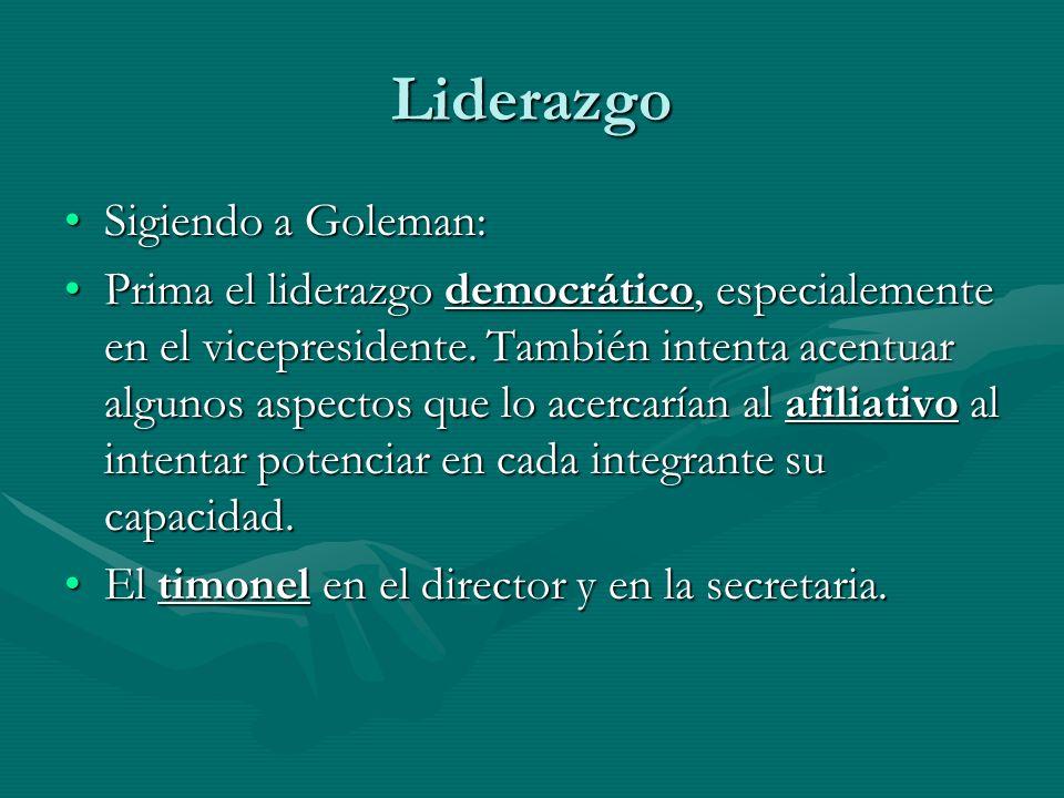 Liderazgo Sigiendo a Goleman:
