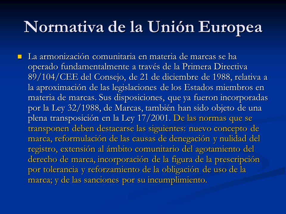 Normativa de la Unión Europea