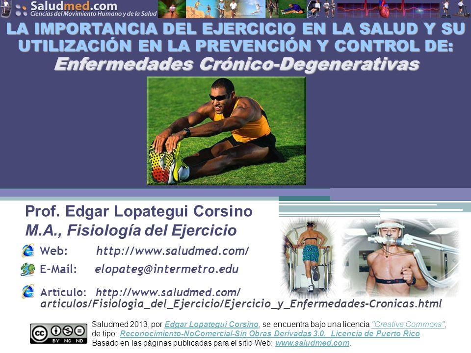 Prof. Edgar Lopategui Corsino M.A., Fisiología del Ejercicio