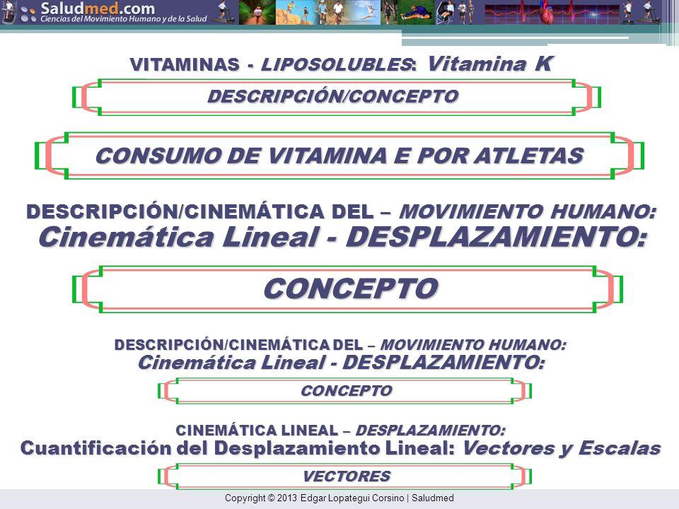 CONCEPTO CONSUMO DE VITAMINA E POR ATLETAS