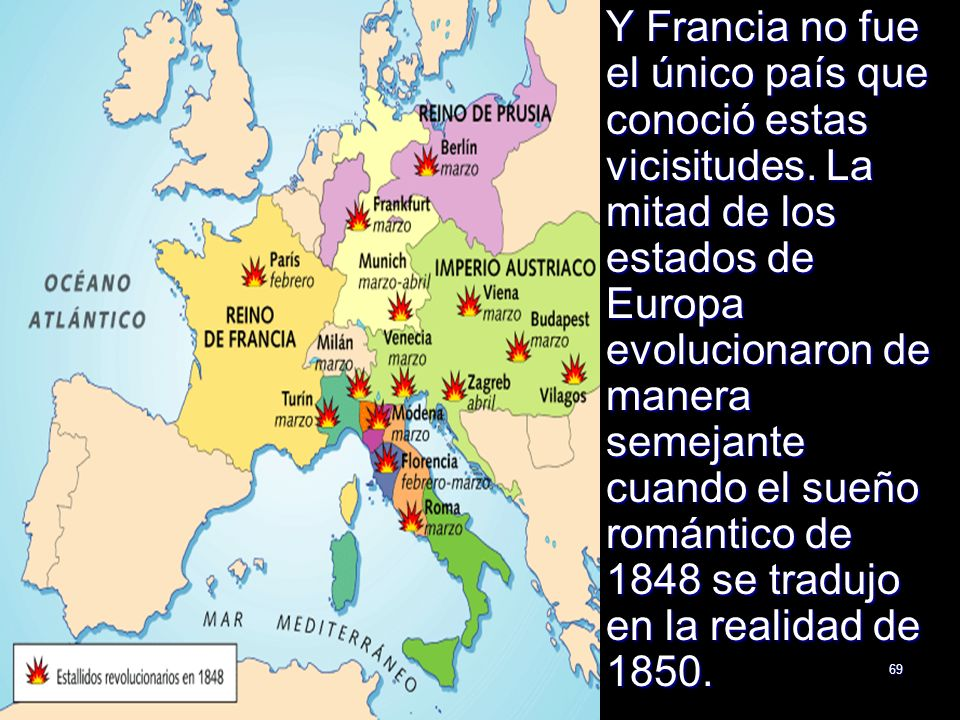 Y Francia no fue el único país que conoció estas vicisitudes
