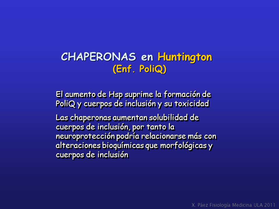 CHAPERONAS en Huntington