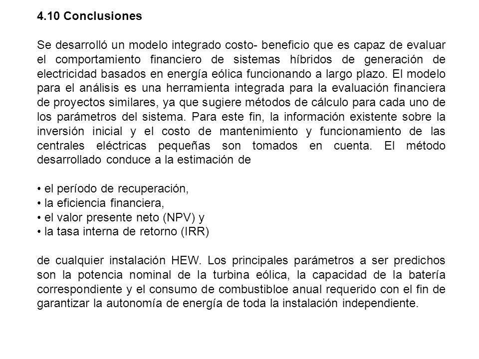 4.10 Conclusiones