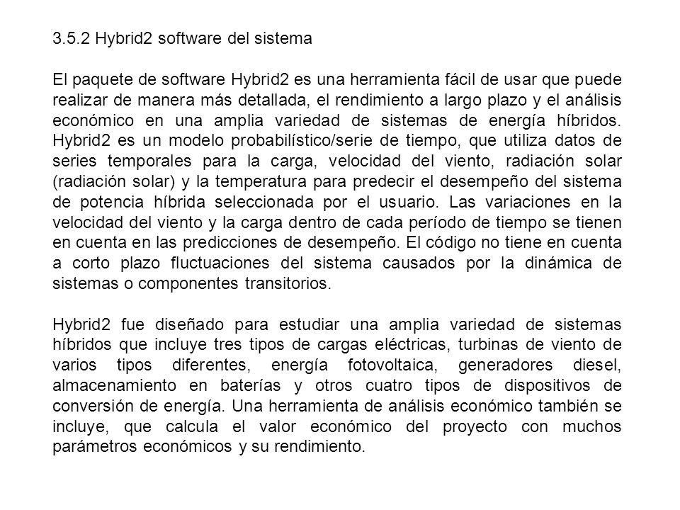 3.5.2 Hybrid2 software del sistema