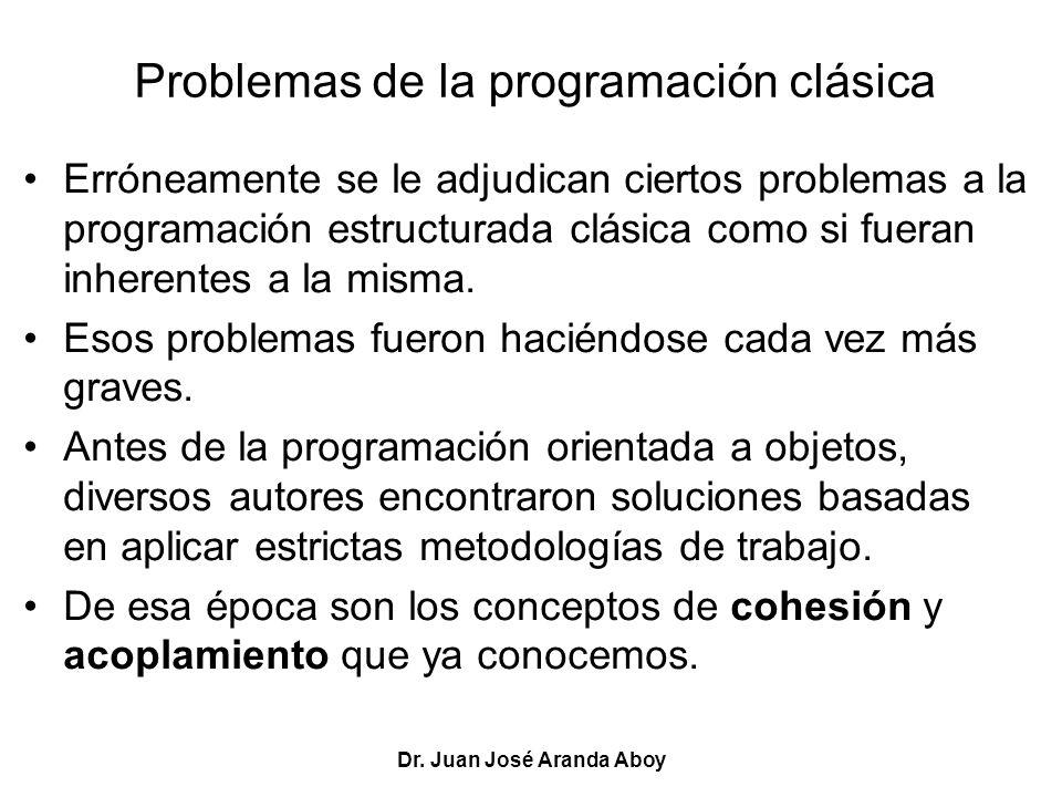 Problemas de la programación clásica