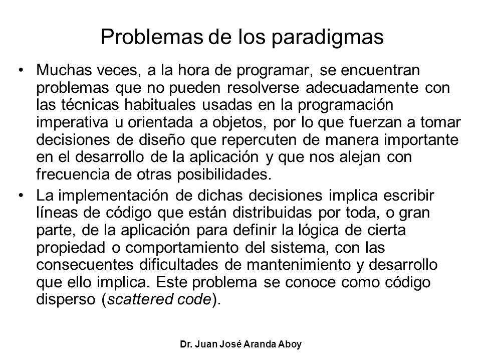 Problemas de los paradigmas