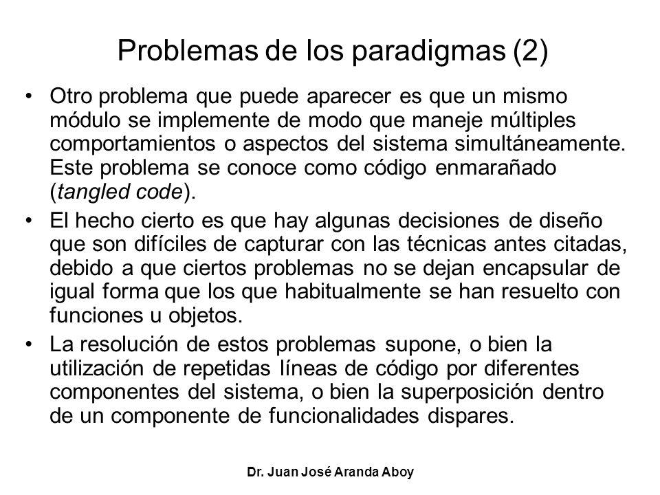 Problemas de los paradigmas (2)