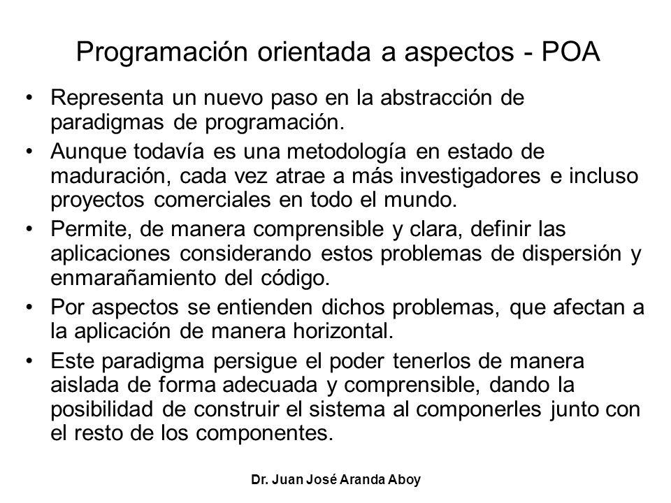 Programación orientada a aspectos - POA