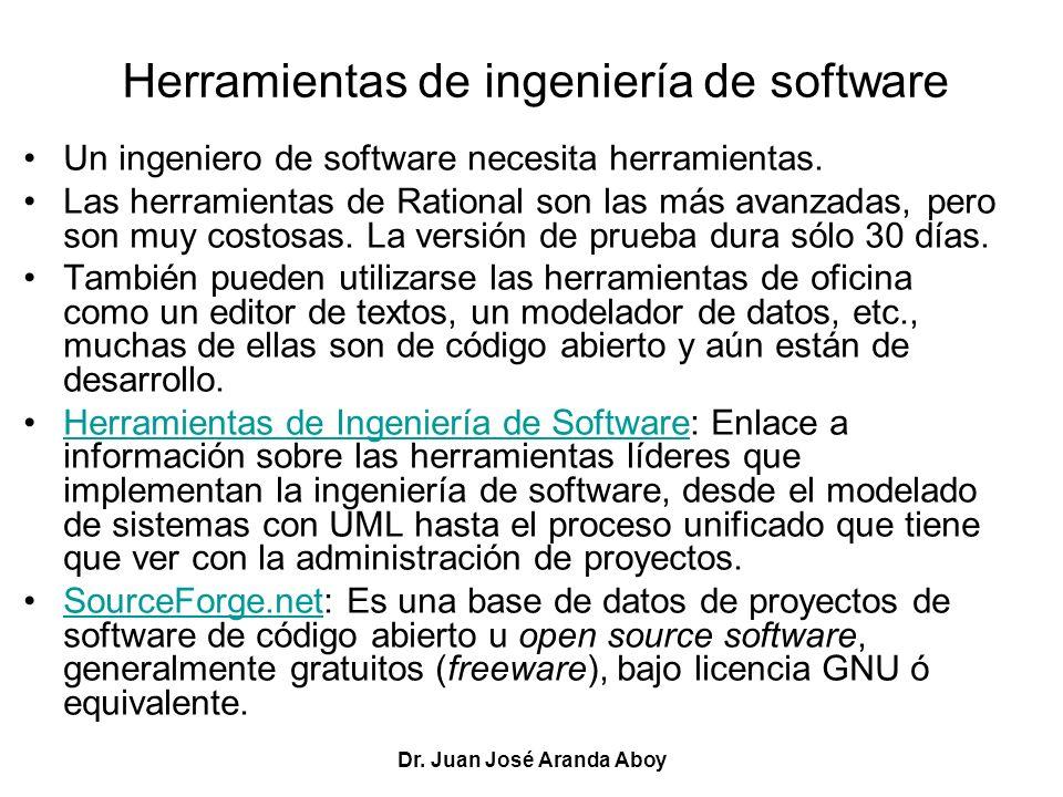 Herramientas de ingeniería de software